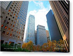 My Office In Downtown San Francisco Acrylic Prints