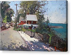 Beach Towns Acrylic Prints