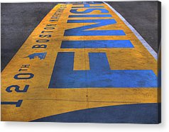 Boston Marathon Acrylic Prints