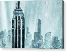 State Acrylic Prints