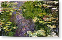 Monet Water Lilies Acrylic Prints