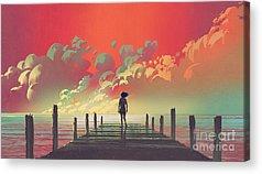 Imagination Acrylic Prints