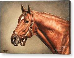 Horse Races Acrylic Prints