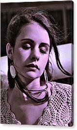 Earrings Acrylic Prints
