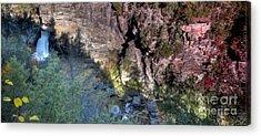 Blue Ridge Parkway Waterfalls Acrylic Prints