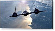 Supersonic Speed Acrylic Prints