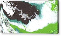 Earthy Abstract Art Acrylic Prints
