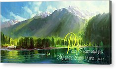 Christianity Acrylic Prints