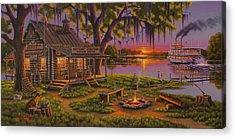 Riverboat Acrylic Prints