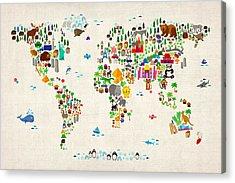 World Acrylic Prints
