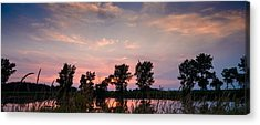 Prairie Sunset Acrylic Prints