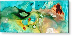 Drippy Paintings Acrylic Prints