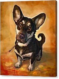 Pet Portrait Acrylic Prints