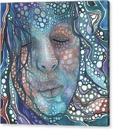 Woman Face Acrylic Prints