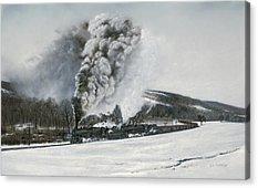 Steam Locomotive Acrylic Prints