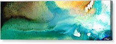 Abstract Seascape Paintings Acrylic Prints
