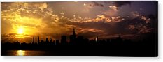 City Sunset Acrylic Prints