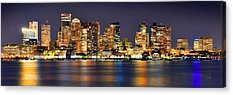 Harbor Scene Acrylic Prints