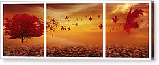 Maple Tree Digital Art Acrylic Prints