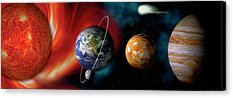 Planets Acrylic Prints