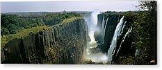 Zambia Waterfall Acrylic Prints