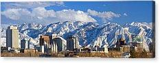 Salt Lake Acrylic Prints