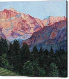 Swiss Alps Acrylic Prints