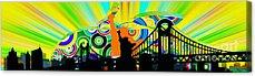 Harlem Ny Digital Art Acrylic Prints