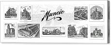 Indiana Scenes Mixed Media Acrylic Prints