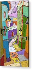 Pastel Colors Paintings Acrylic Prints
