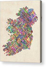 Ireland Acrylic Prints
