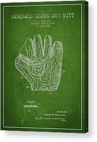 Baseball Gloves Acrylic Prints
