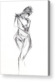 God Drawings Acrylic Prints