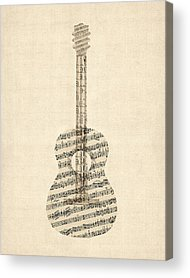Guitar Acrylic Prints