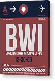 Baltimore Maryland Acrylic Prints