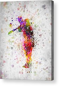 Softball Acrylic Prints