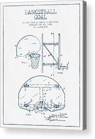 National Basketball Association Acrylic Prints