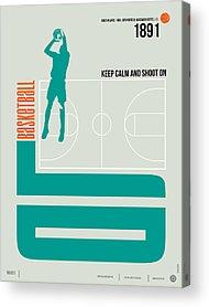 Basketball Acrylic Prints