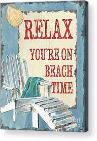 Coastal Quote Acrylic Prints