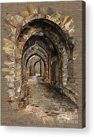 Brick Buildings Acrylic Prints