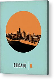 Downtown Chicago Acrylic Prints