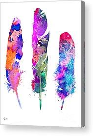 Feather Acrylic Prints