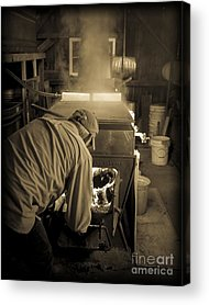 Sugaring Season Acrylic Prints