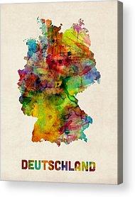 Deutschland Acrylic Prints