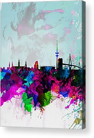 Hamburg Acrylic Prints