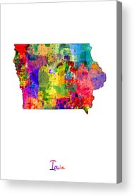 Iowa Acrylic Prints