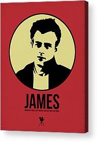 James Dean Acrylic Prints