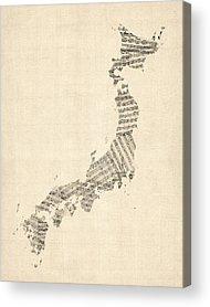 Tokyo Acrylic Prints