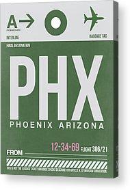 Phoenix Arizona Acrylic Prints