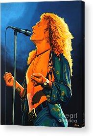 Lead Singer Acrylic Prints